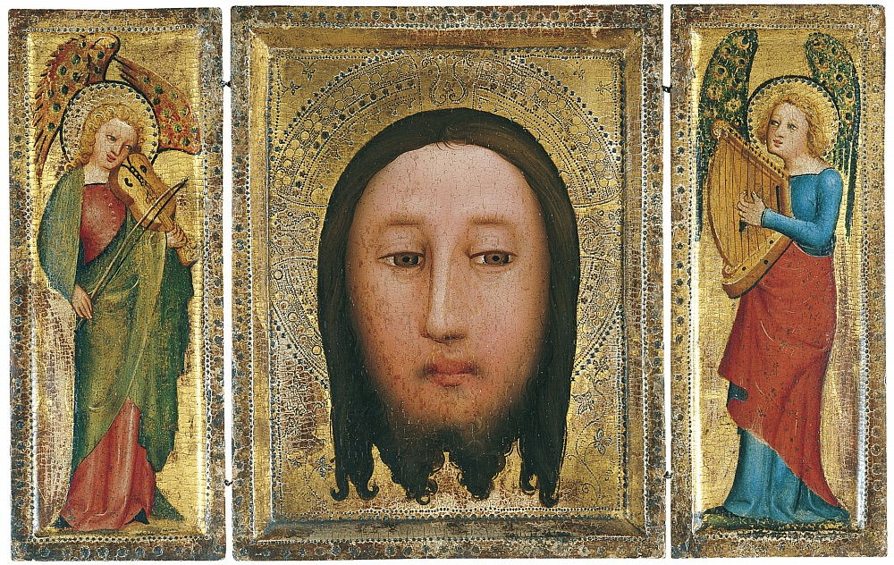 Triptych of The Holy Face by Master Bertram