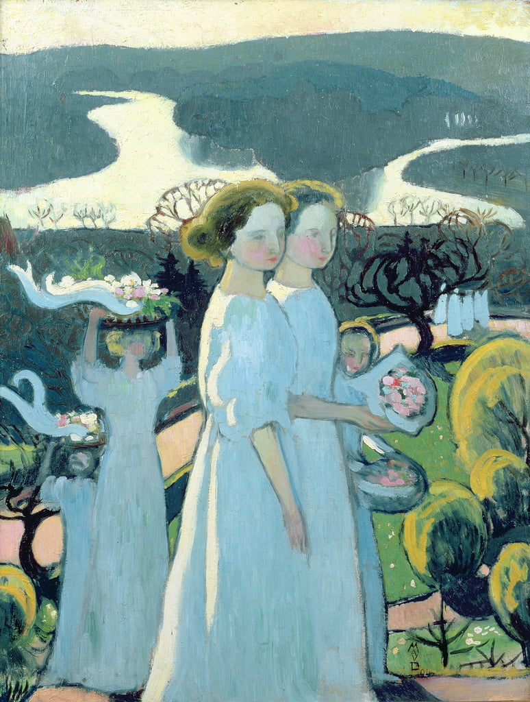 Easter Procession  by Maurice Denis