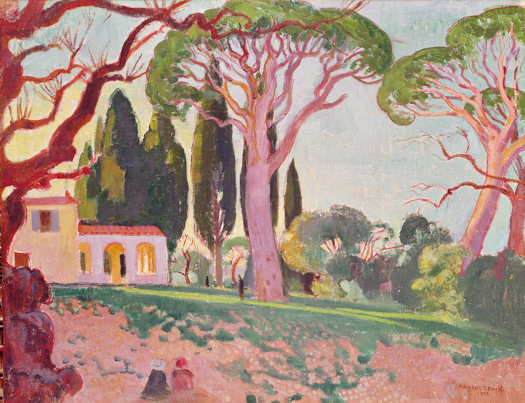 Saint-Cassien Chapel, Cannes, 1922  by Maurice Denis