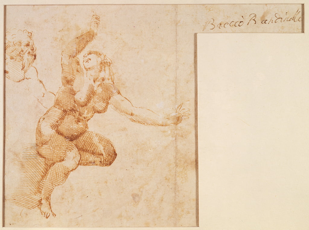 Study of a Female Nude by Michelangelo Buonarroti