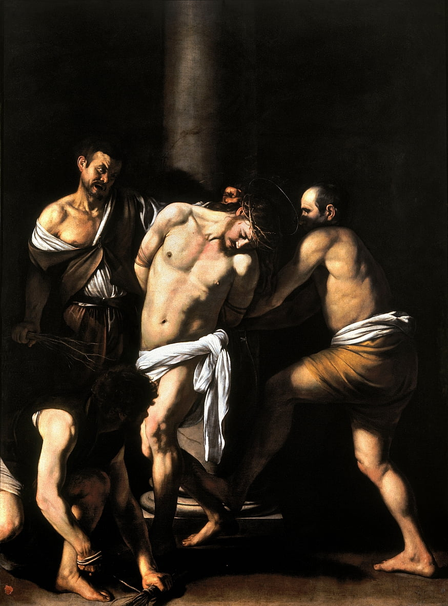The Flagellation of Christ by Michelangelo Merisi Caravaggio