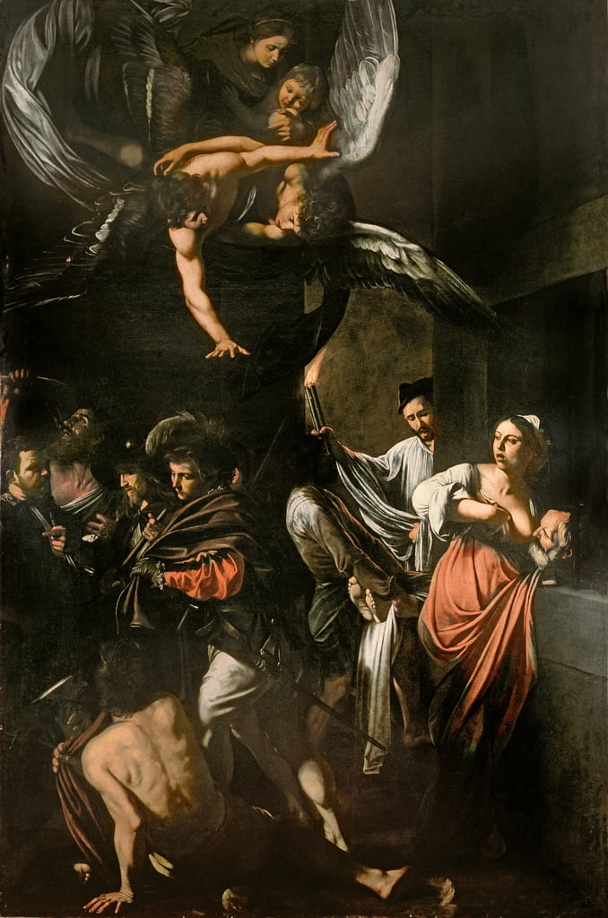 Caravaggio Michelangelo Merisi Leinwandbild Narziss
