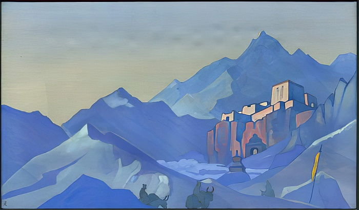 Stronghold of the Spirit, 1932 by Nicholas Roerich