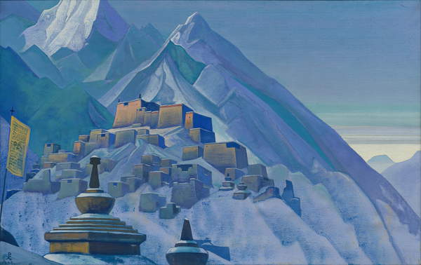 Tibet. Himalayas, 1933 by Nicholas Roerich