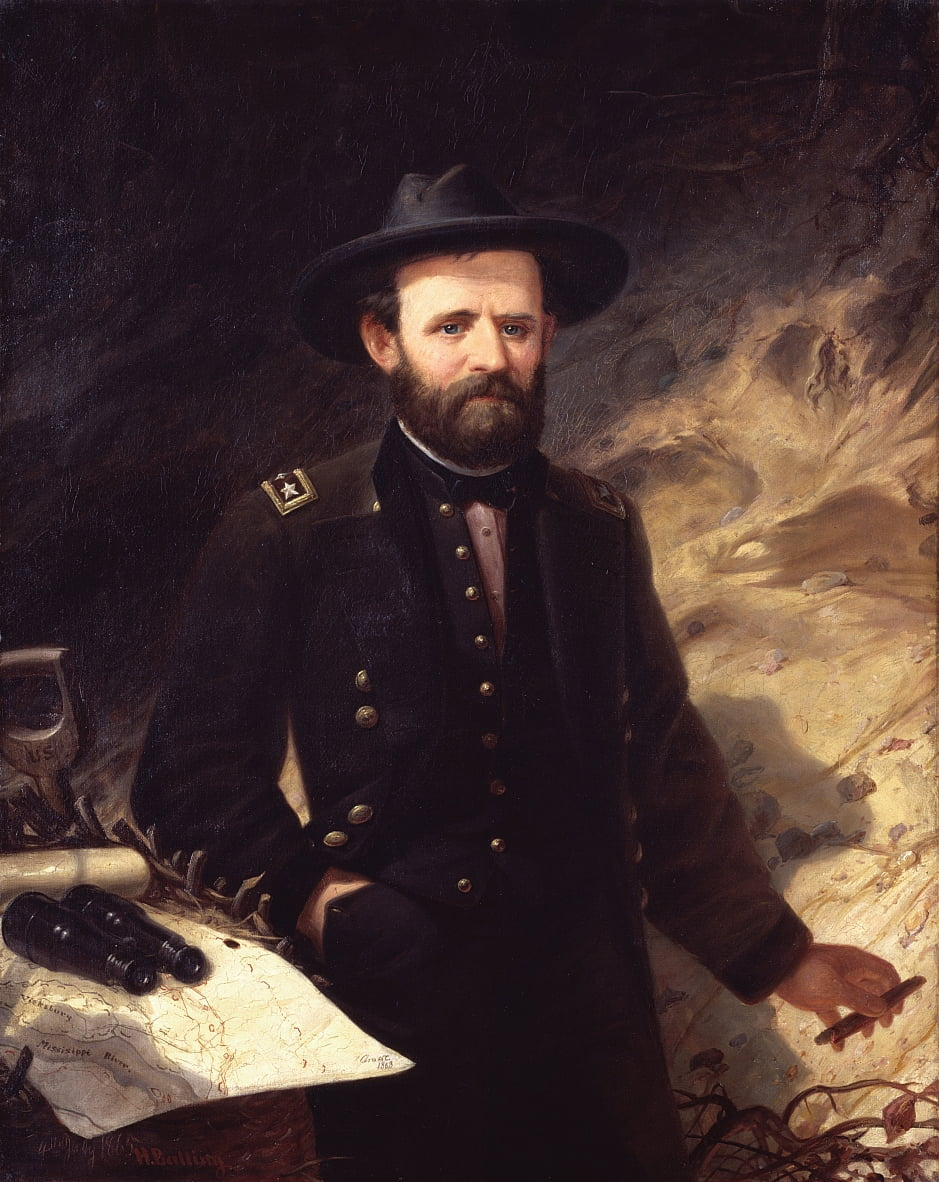 Portrait of Ulysses S. Grant  by Ole Peter Hansen Balling