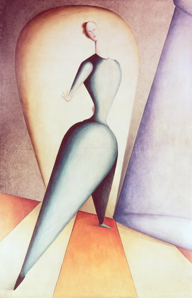 The Dancer, 1922-23  by Oskar Schlemmer
