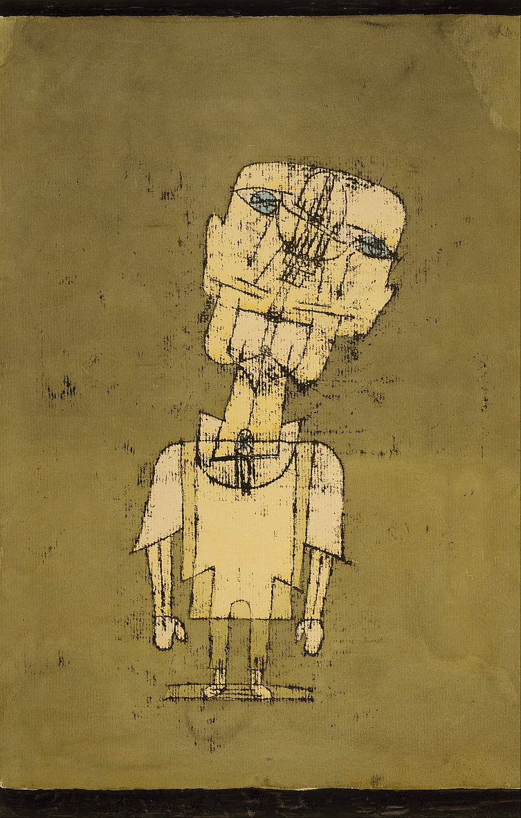 Gespenst eines Genies by Paul Klee