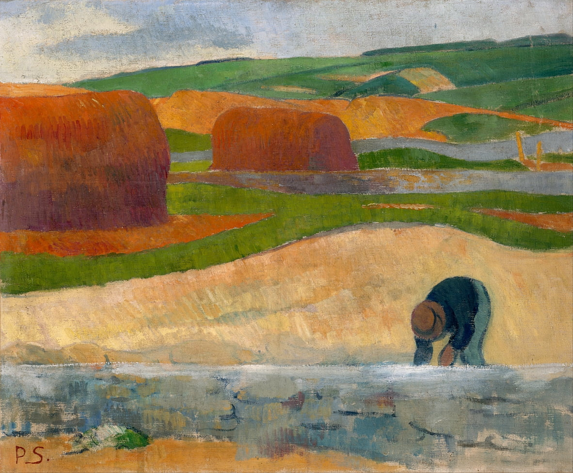 Seaweed Gatherer by Paul Sérusier