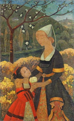 The Lady of Kerbrau, 1918  by Paul Sérusier