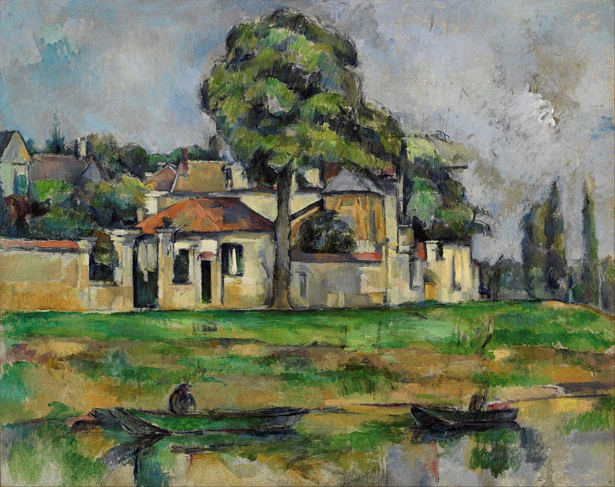 Banks of the Marne, c. 1888 by Paul Cézanne