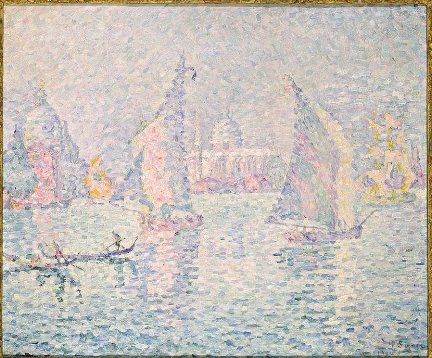 The Green Haze Venice By Paul Signac As Art Print 688833