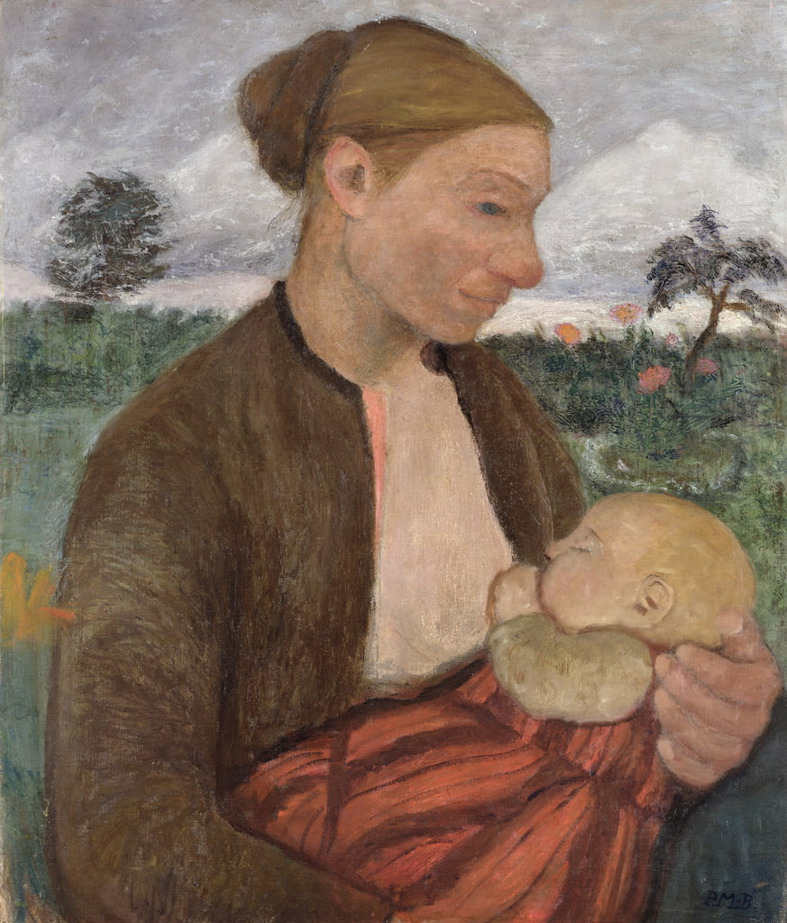 Mother and Child by Paula Modersohn Becker