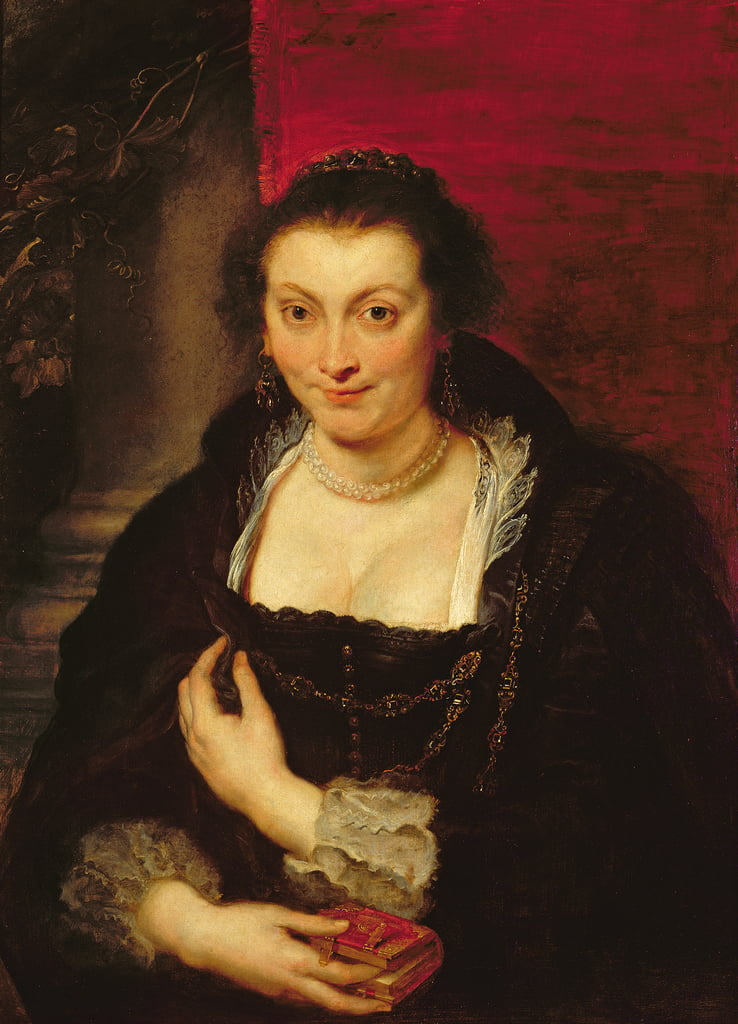 Portrait of Isabella Brant, c.1625-26  by Peter Paul Rubens