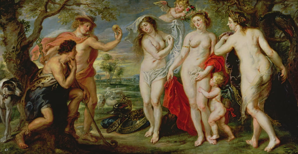 The Judgement of Paris, 1639  by Peter Paul Rubens