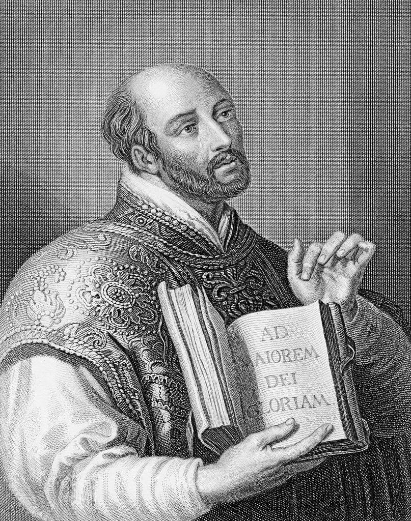 Ignatius Loyola, engraved by William Holl the younger, c.1830  by Peter Paul Rubens