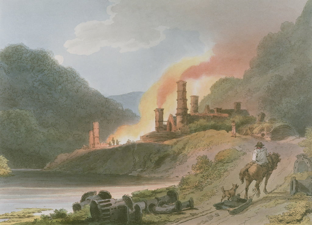 Iron Works, Coalbrook Dale, from