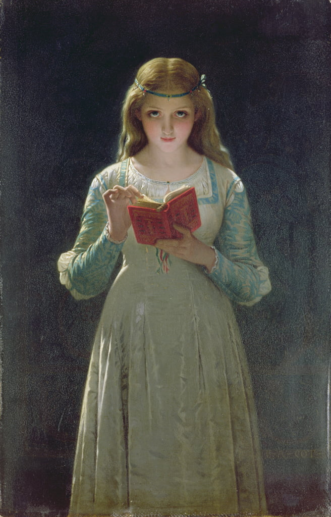 The Reader  by Pierre Auguste Cot