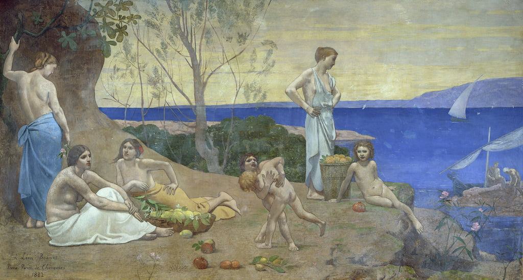 Sweet Country, 1882  by Pierre Puvis de Chavannes