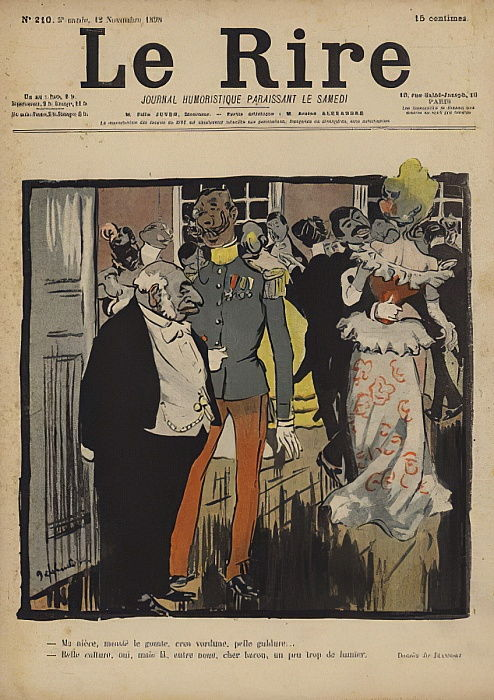 Illustration for Le Rire  by Pierre Georges Jeanniot