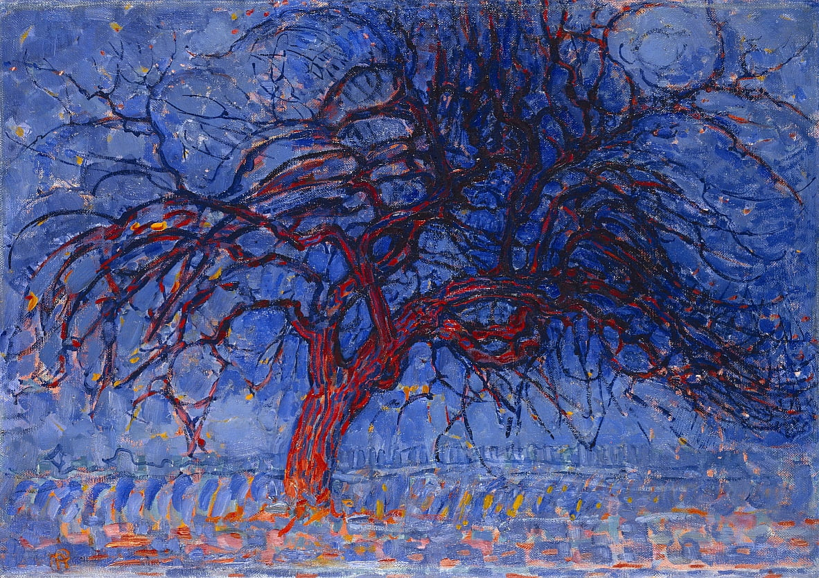 Red Tree  by Piet Mondrian
