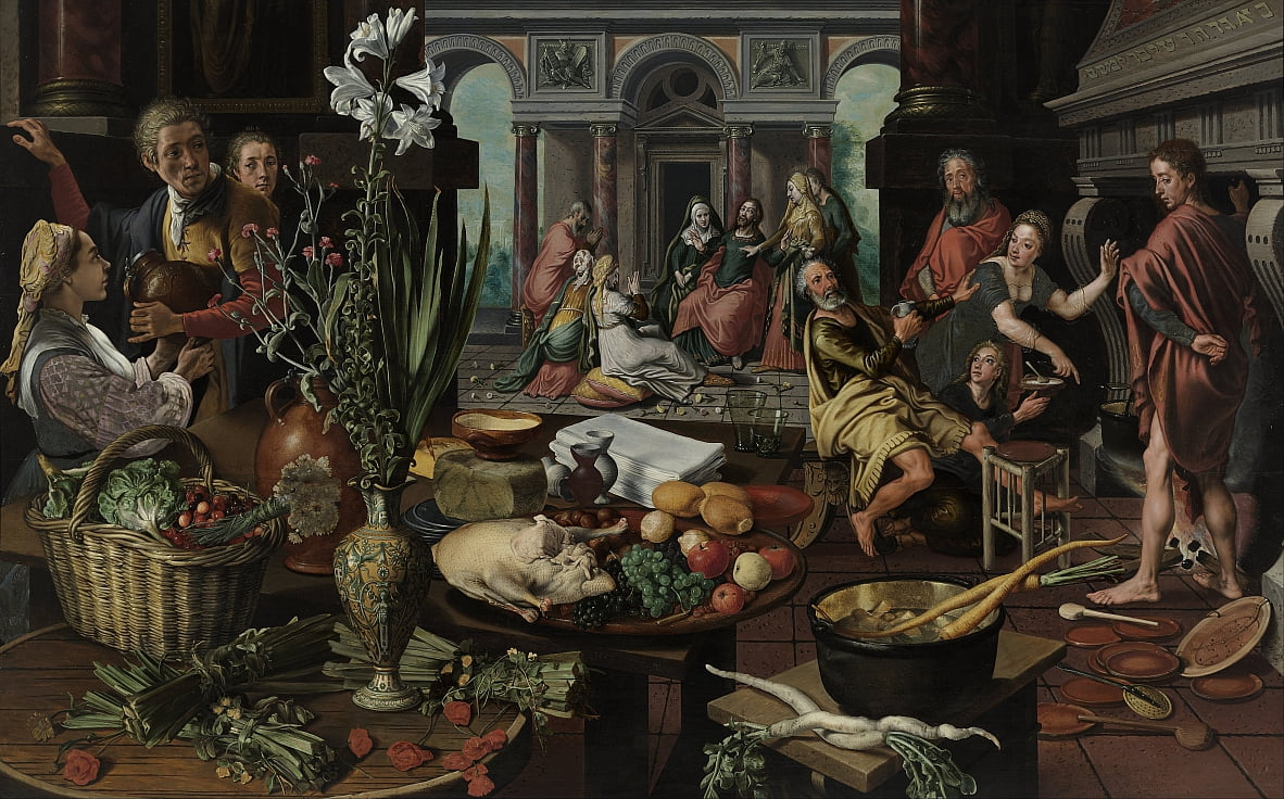 Christ in the House of Martha and Mary by Pieter Aertsen