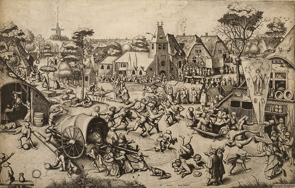 The Fair of Saint Georges Day by Pieter Bruegel the Elder