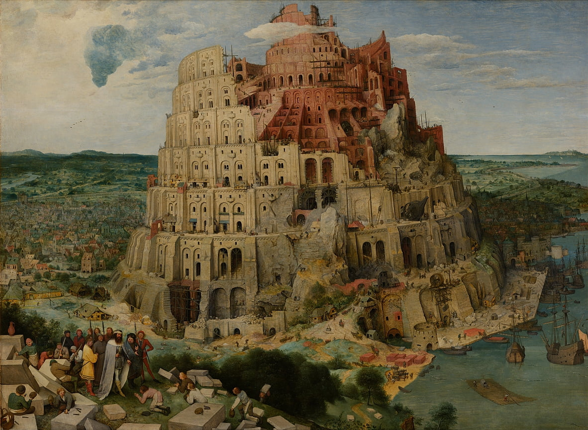 The Tower of Babel (Vienna) by Pieter Bruegel the Elder