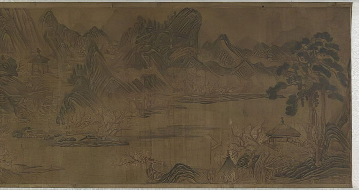 Peach Blossom Spring  by Qing Dynasty Chinese School