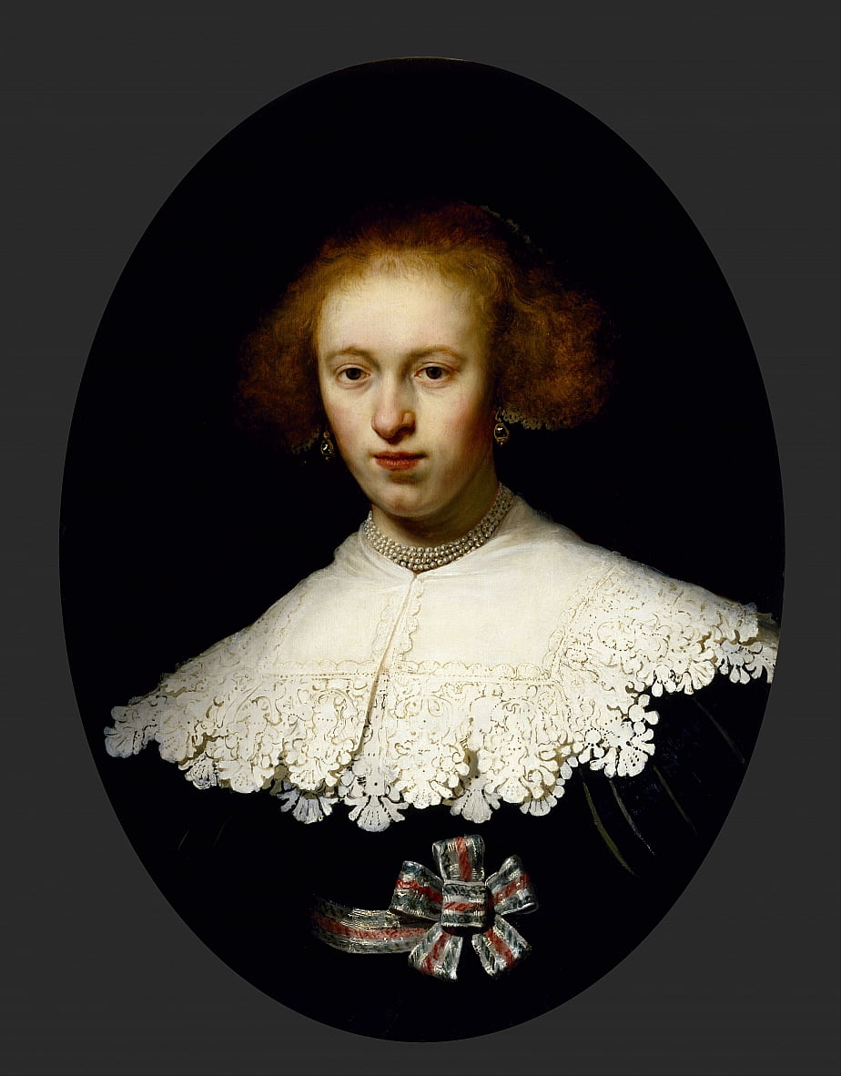 Portrait of a Young Woman by Rembrandt van Rijn