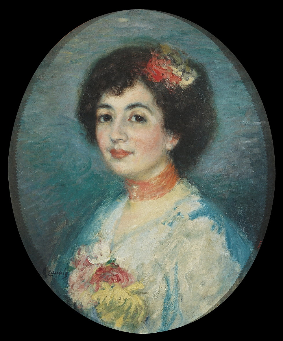 Portrait of Mrs Amouroux, the Artist