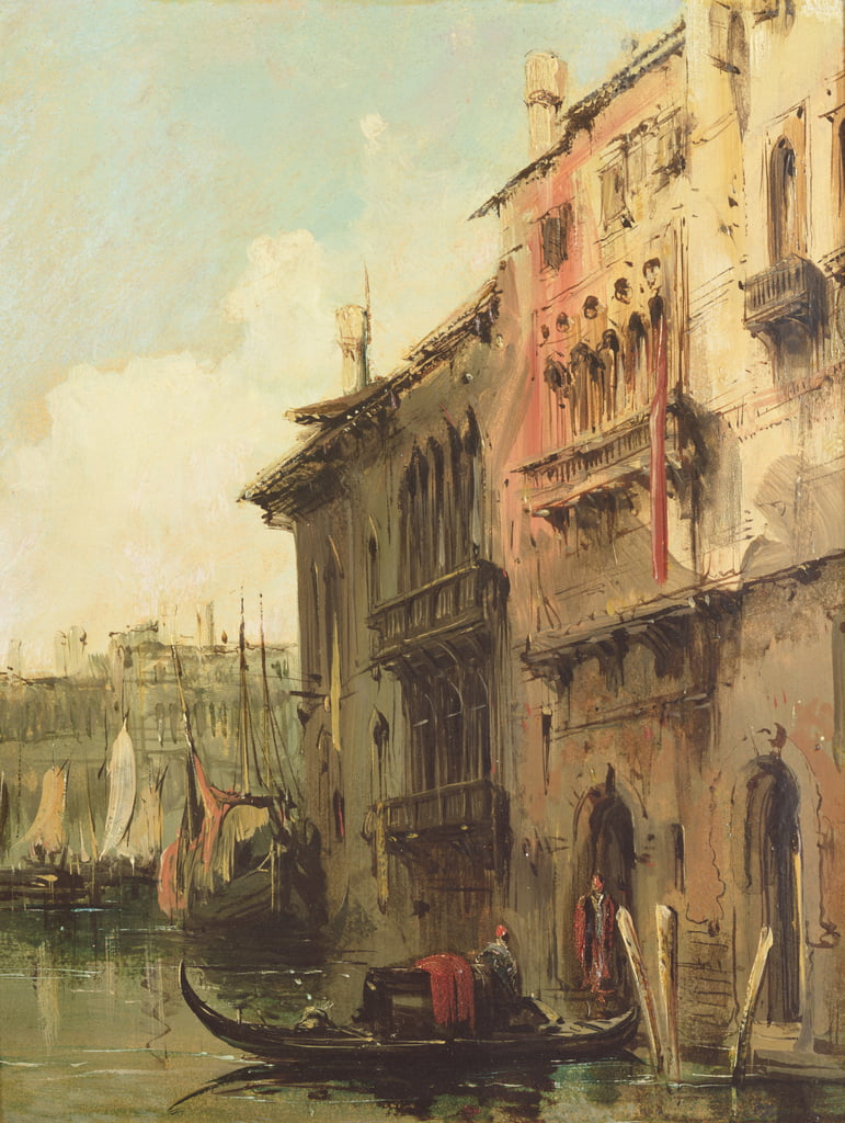 Venice  by Richard Parkes Bonington