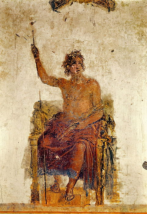 Alexander the Great, possibly as Zeus  by Roman