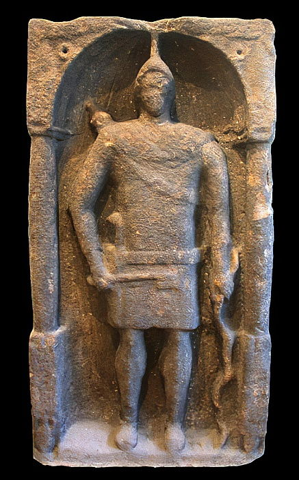 Roman Tombstone depicting a Hamian (Syrian) Archer, c.125-40 AD  by Roman