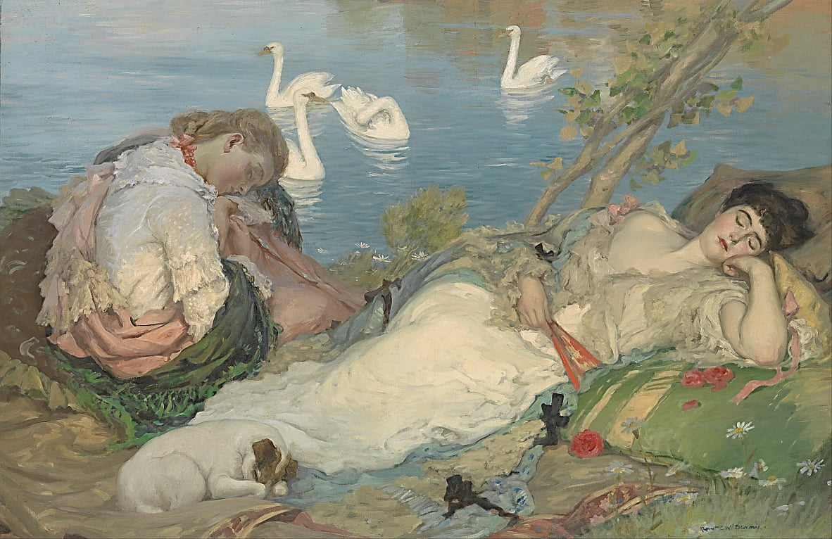 Endormies by Rupert Bunny