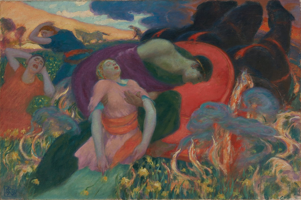 The Rape of Persephone by Rupert Bunny