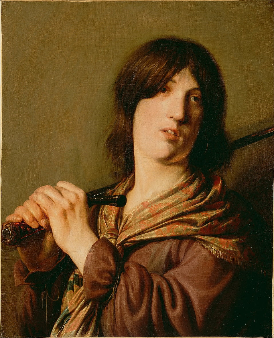 David with His Sword by Salomon de Bray