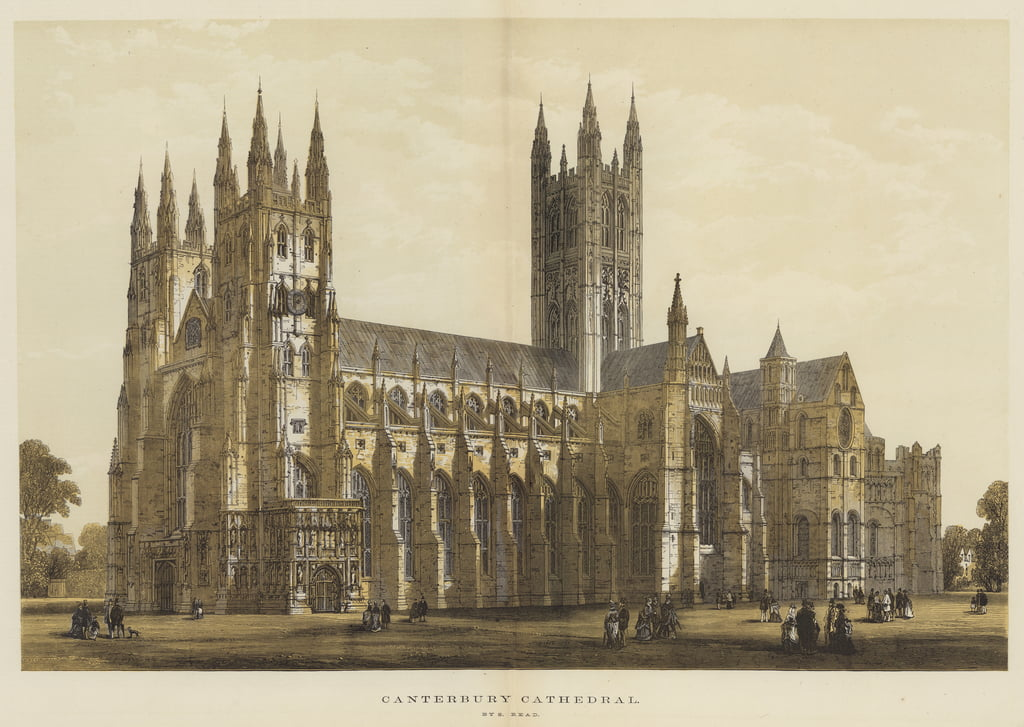 Canterbury Cathedral  by Samuel Read