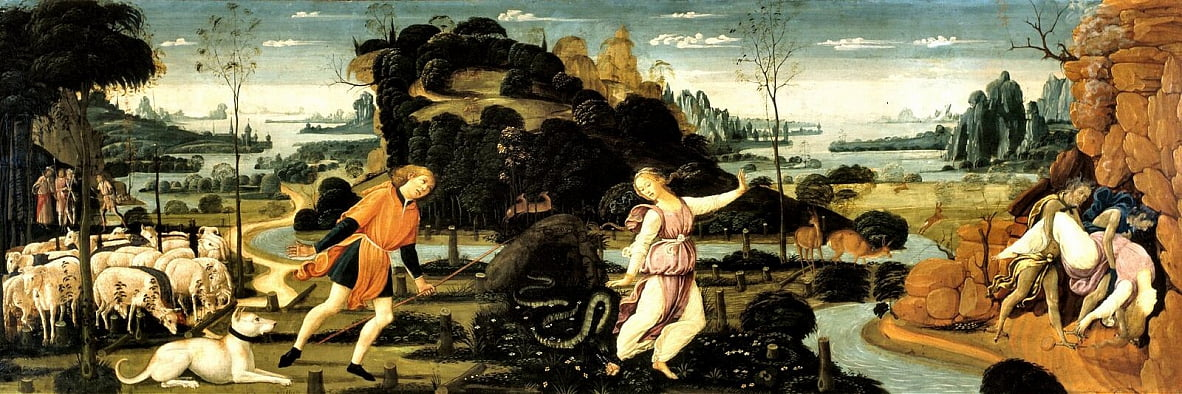 Orpheus and Eurydice by Sandro Botticelli