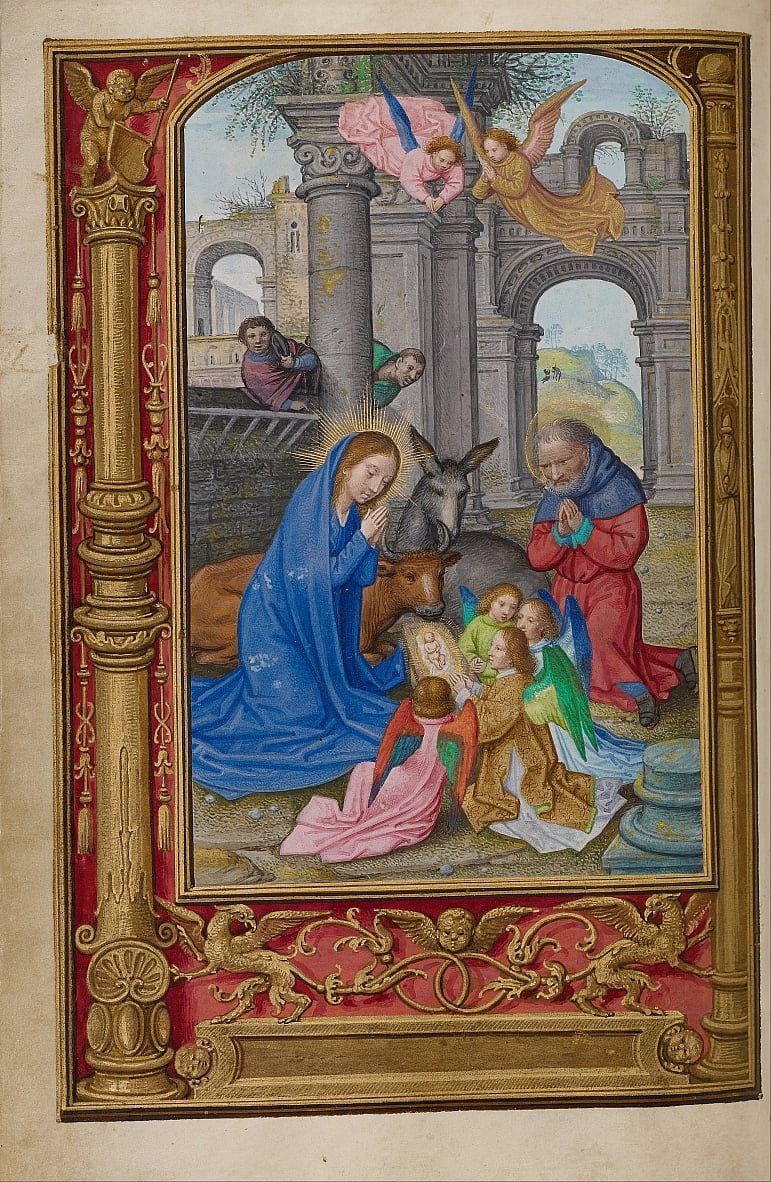 The Nativity by Simon Bening