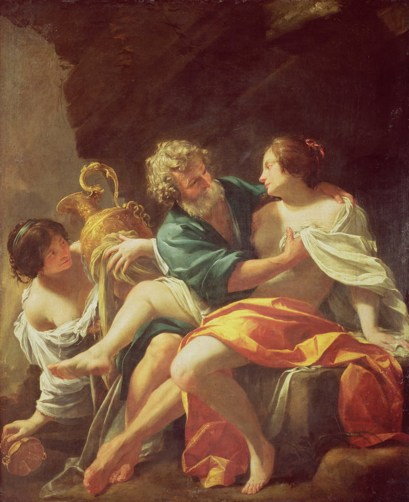 Lot and his Daughters, c.1630  by Simon Vouet