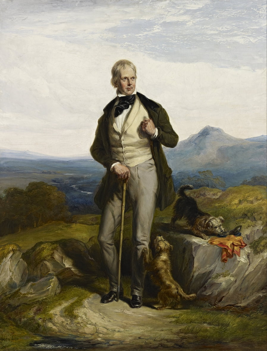 Sir Walter Scott, 1771 by Sir William Allan