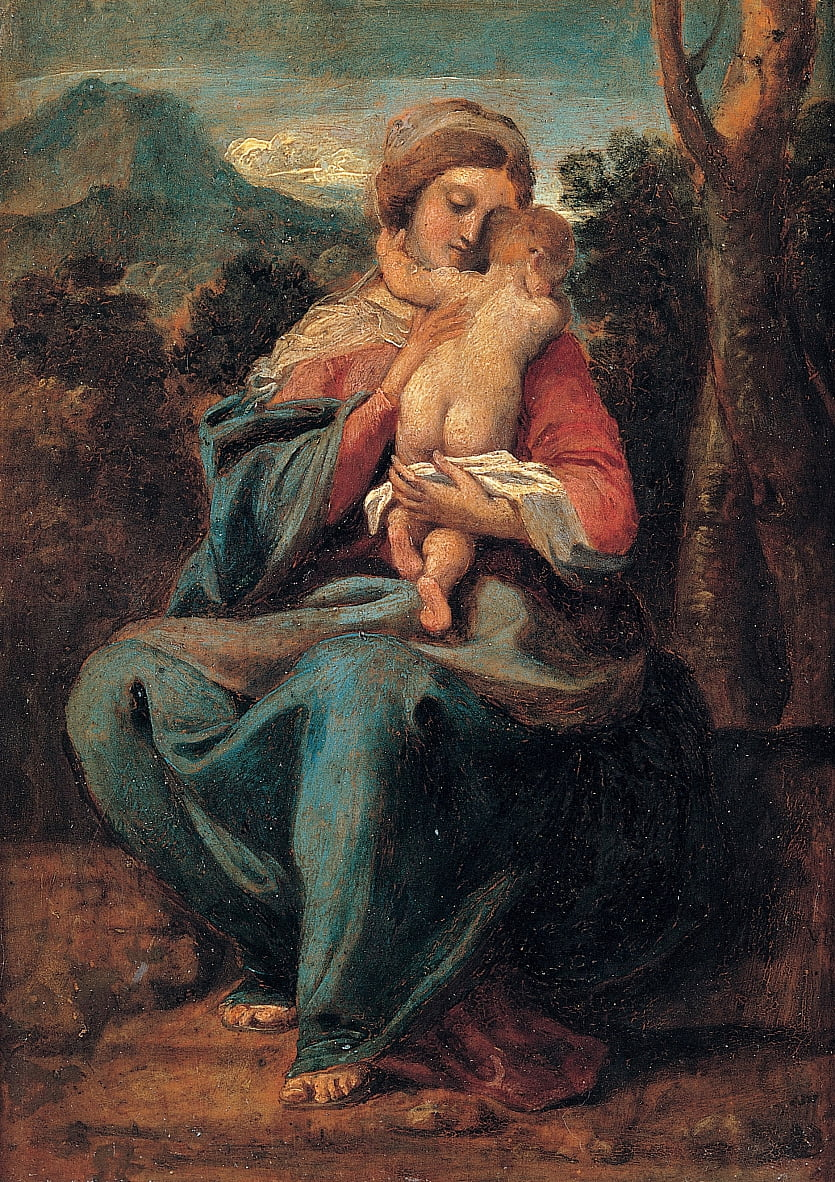 Madonna with the Child by Sisto Badalocchio