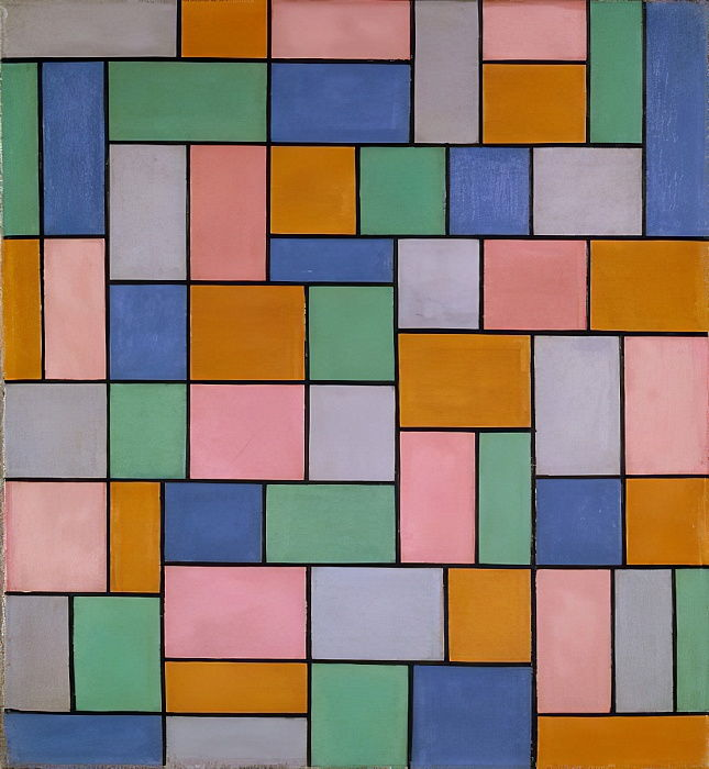 Composition in Dissonances by Theo van Doesburg