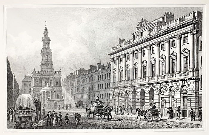 Somerset House, from