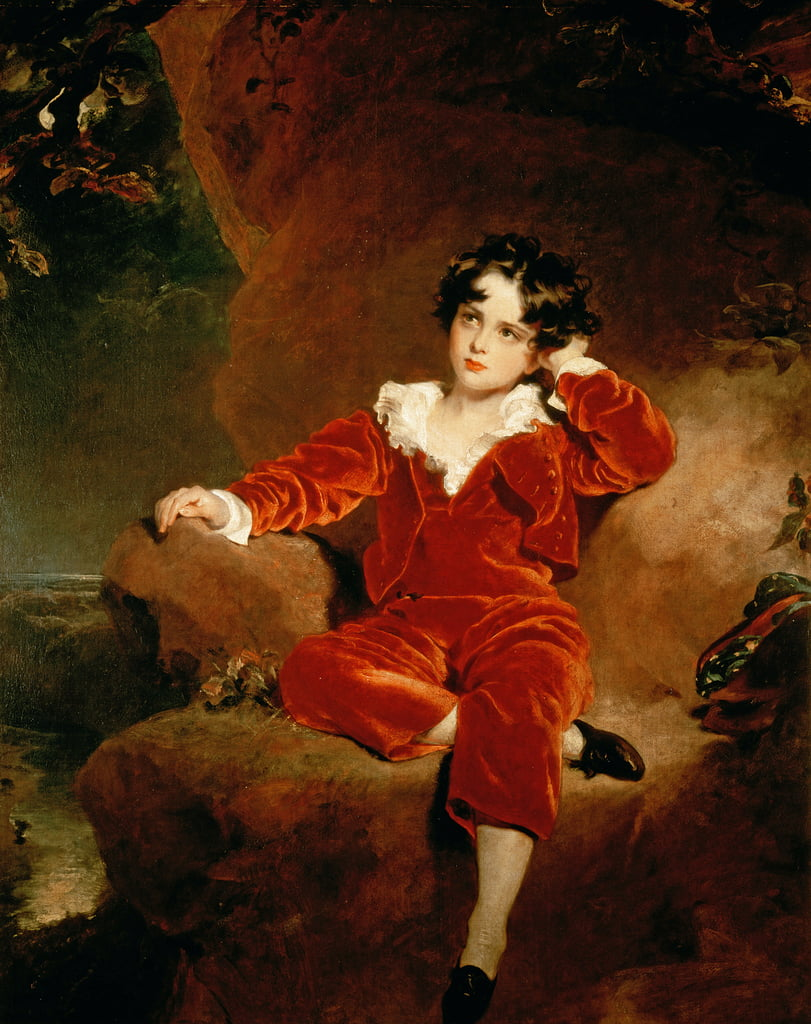 Master Charles William Lambton, 1825  by Thomas Lawrence