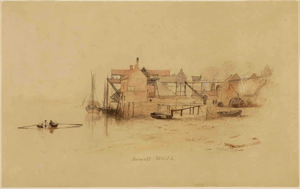Benwell Staith  by Thomas H. Hair