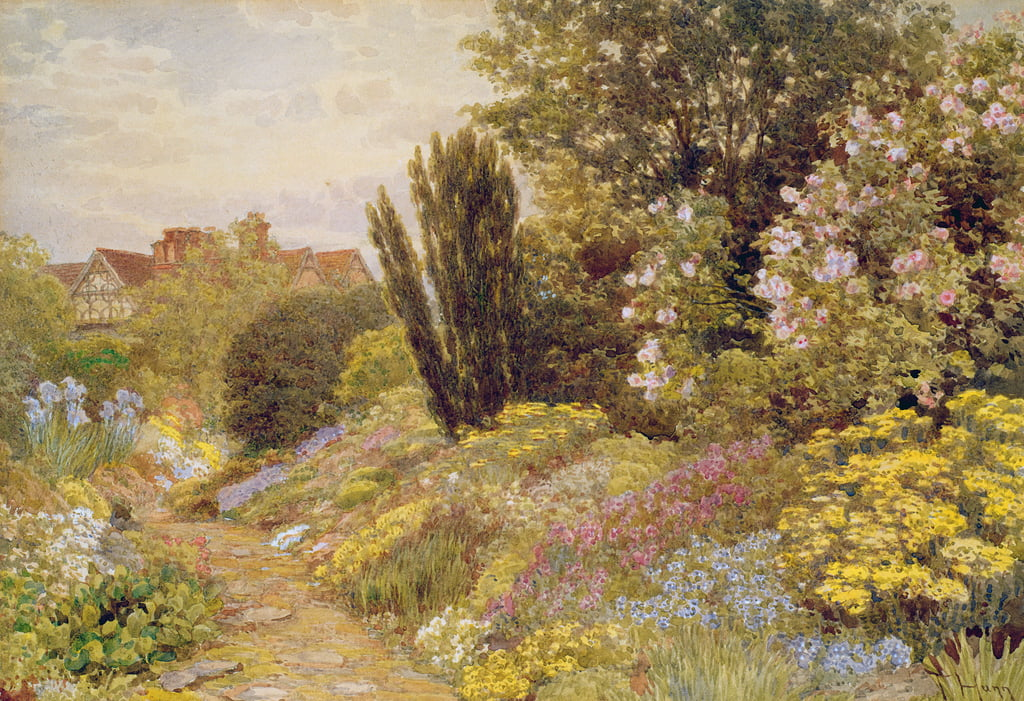 The Alpine Gardens at Tangley Manor by Thomas H. Hunn