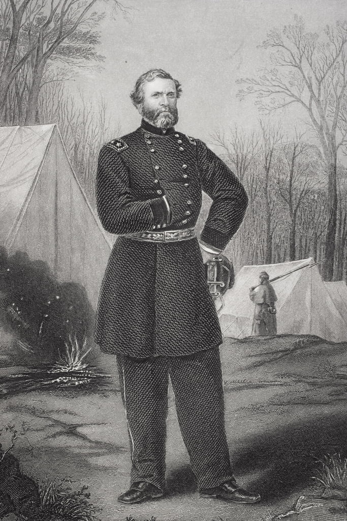 Portrait of General George Henry Thomas (1816-70)  by Thomas Nast