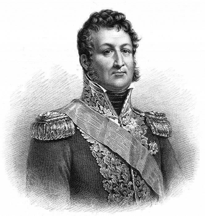 Louis-Philippe, King of France, 1830. by Thomson