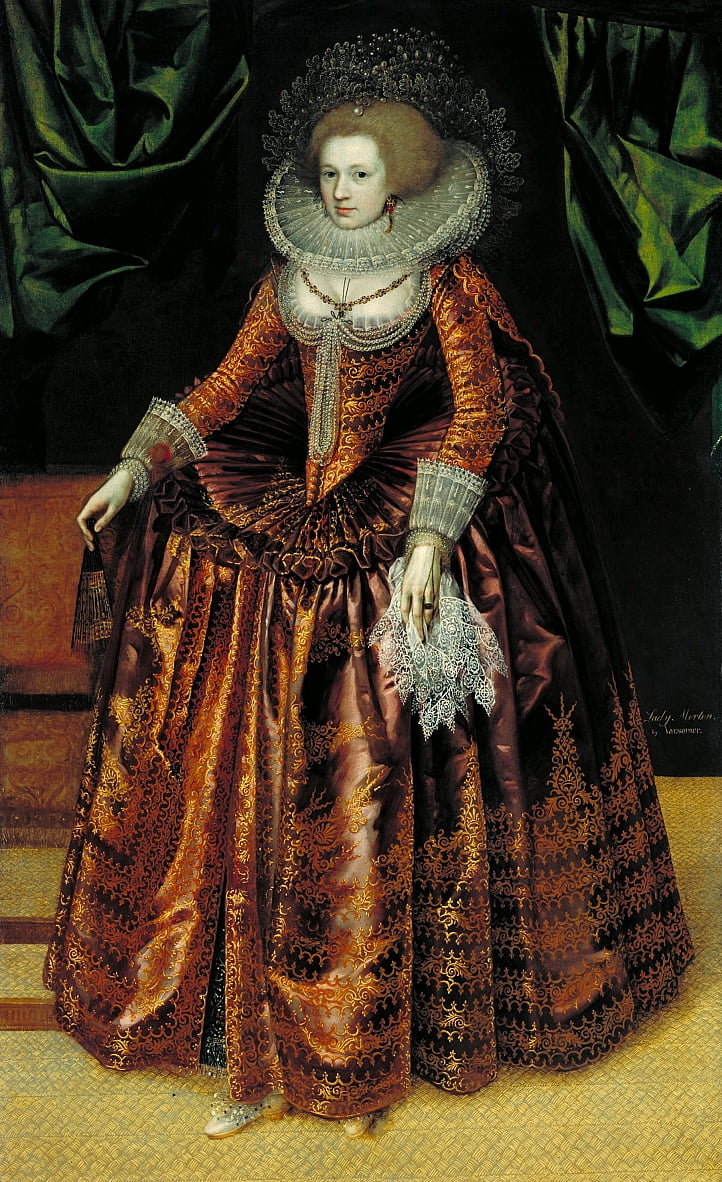 British School 17th century - Portrait of Anne Wortley, Later Lady Morton by Unbekannt Unbekannt
